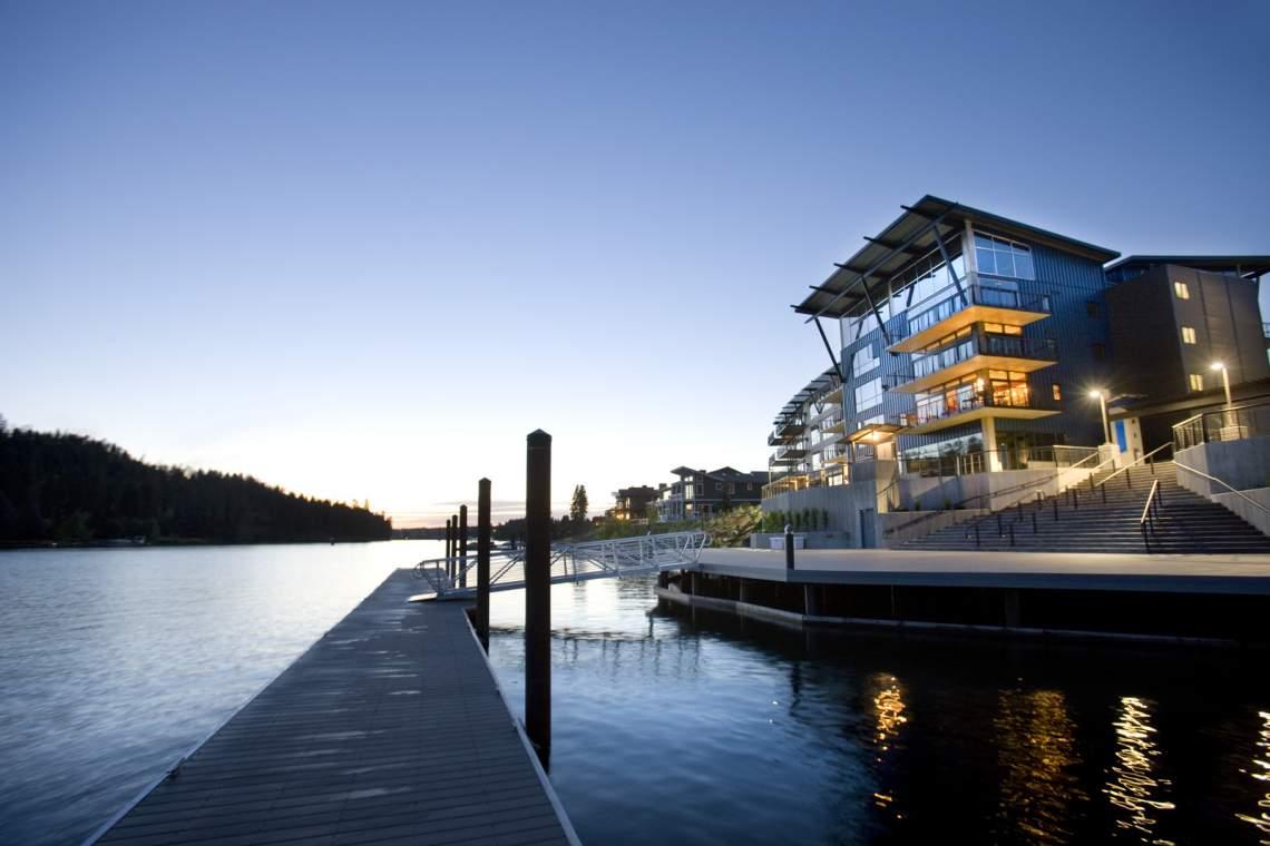 Community docks & Boardwalk
