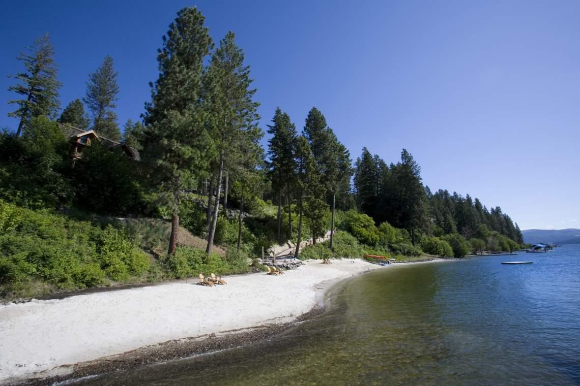 Community Beach Front Lake Coeur d'Alene