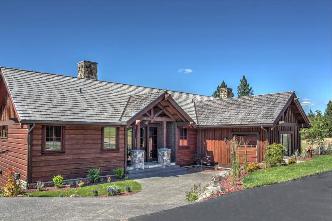 Rustic craftsman exterior