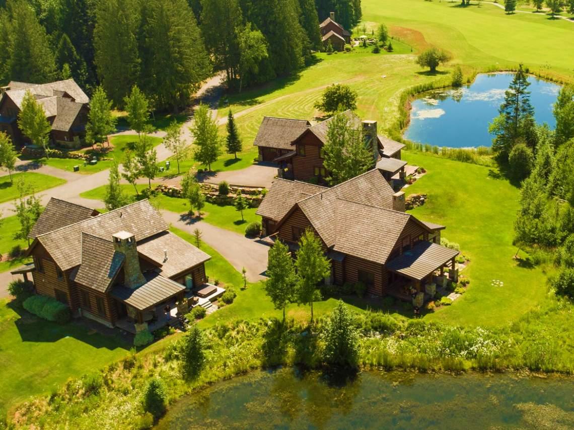 lodges-aerial