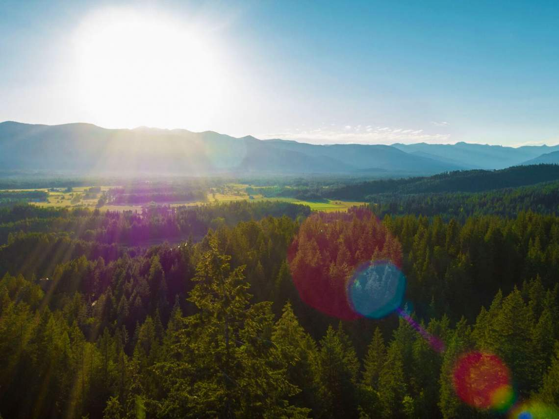 sunrise-sunflare