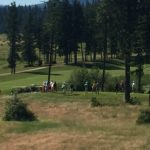 New homes built in The Golf Club at Black Rock, Coeur d'Alene Idaho.
